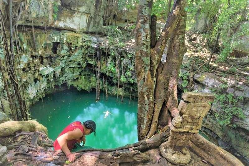人類學家在墨西哥的尤加丹半島,發現了全世界最大的水底洞穴、更讓馬雅文明的考證又往前邁進一步。(圖/ Gran Acuífero Maya@facebook)
