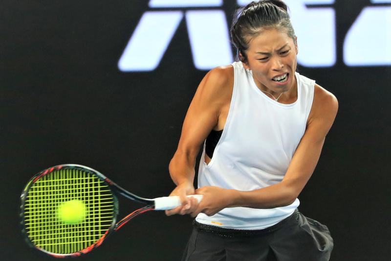 挺進澳網四強的台灣選手謝淑薇,雖然今日比賽止步四強,但仍讓國人看到她的堅強與韌性!(圖/Go!台灣網球!facebook)