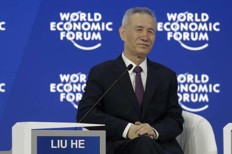 中共中央政治局委員、中央財經領導小組辦公室主任劉鶴(AP)