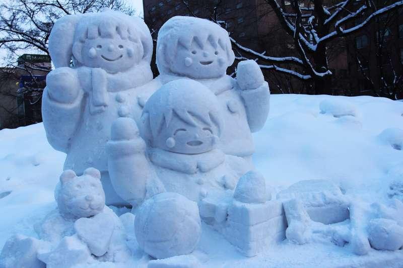 示意圖。日本東京近日下起大雪,民眾發揮創意堆出各式各樣的可愛雪人(取自Pixabay)