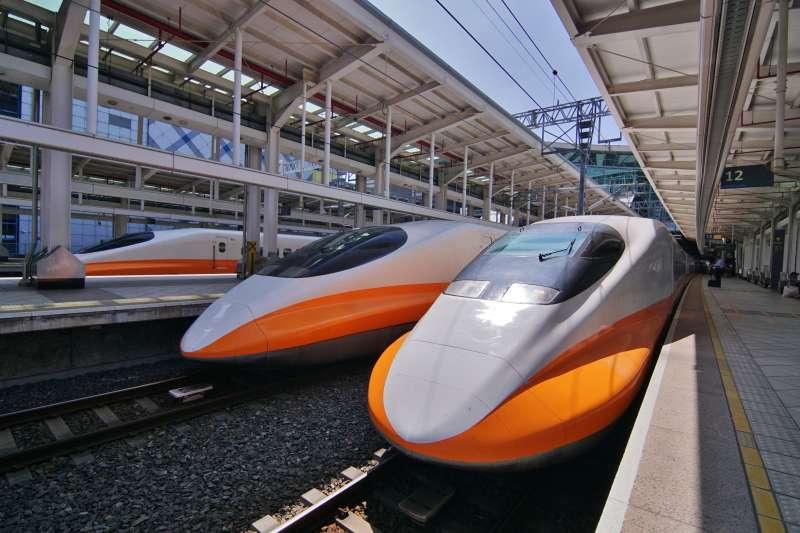 台灣高鐵列車。(盧逸峰攝)