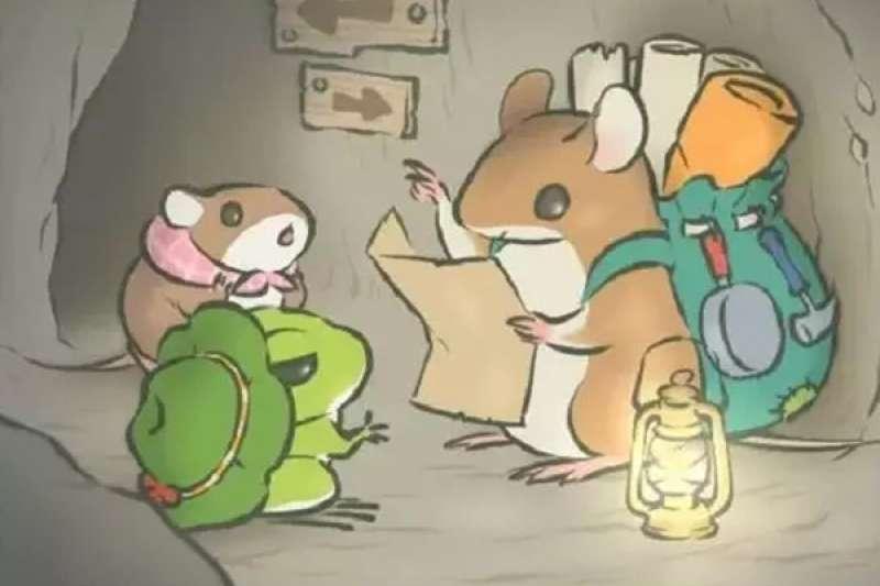 你知道《旅行青蛙》中的小青蛙是什麼品種嗎?(圖/澎湃新聞)