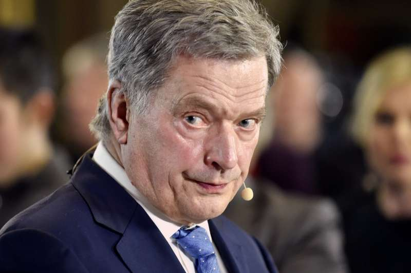 獲選連任的芬蘭總統尼尼斯托(Sauli Niinisto),謹慎作風獲選民信賴。(美聯社)