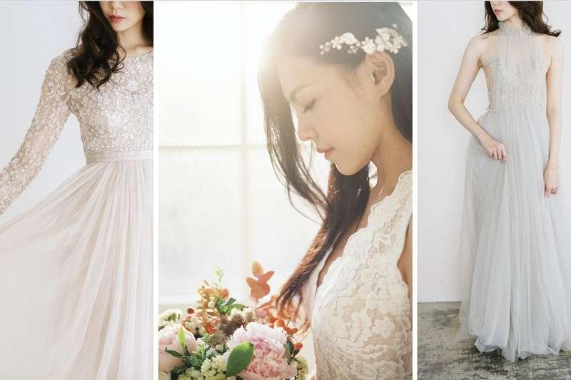 唯諾禮服婚紗風格多元,質感精緻令人驚艷(圖/唯諾婚紗提供)