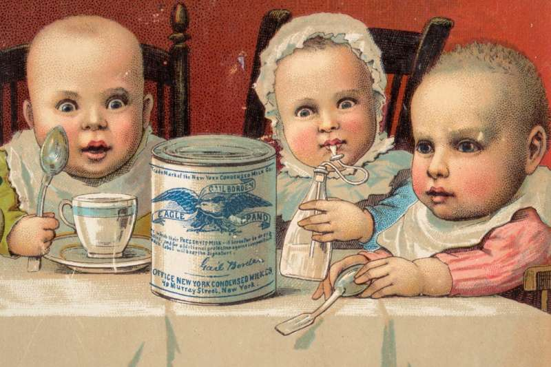 根據市售嬰兒奶粉業者提供的資料來看,台灣進口的奶粉主要來自於歐盟、澳洲與紐西蘭等國。(圖/Boston Public Library@flickr)