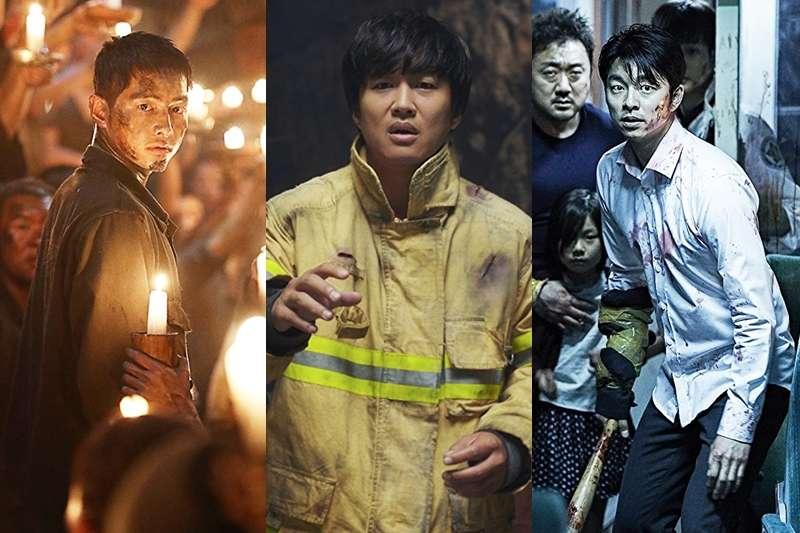 《屍速列車》孔劉(右)、《與神同行》車太鉉(中)和《軍艦島》宋仲基(左),可是近年最夯的韓國電影男神!(圖/網路組圖)
