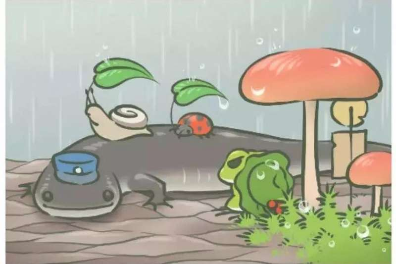 遊戲設置裡,玩家不能決定青蛙什麼時候去旅行、去什麼地方、什麼時候回來,這種清楚的「界限感」反而讓關係更健康,不會有以愛為名的情緒勒索。(圖/簡單心理提供)
