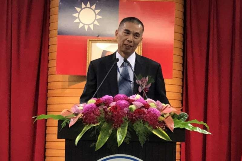 2018-01-31-中油辦理總經理交接典禮,新任總經理李順欽正式上任。(中油提供)