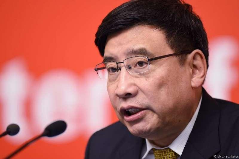 中國工信部總工程師張峰說,VPN新法規不會對企業及大眾造成影響(德國之聲)