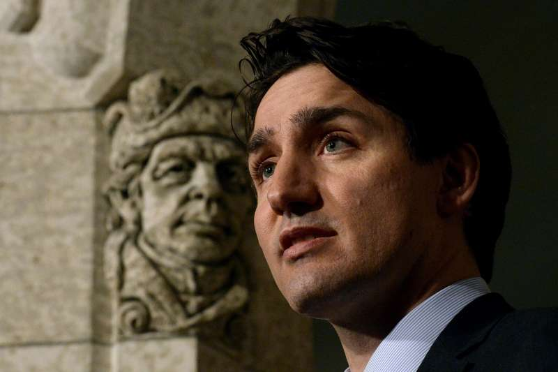 加拿大總理杜魯道(Justin Trudeau)(AP)