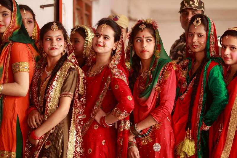 印度女性,樣貌多元(美聯社)