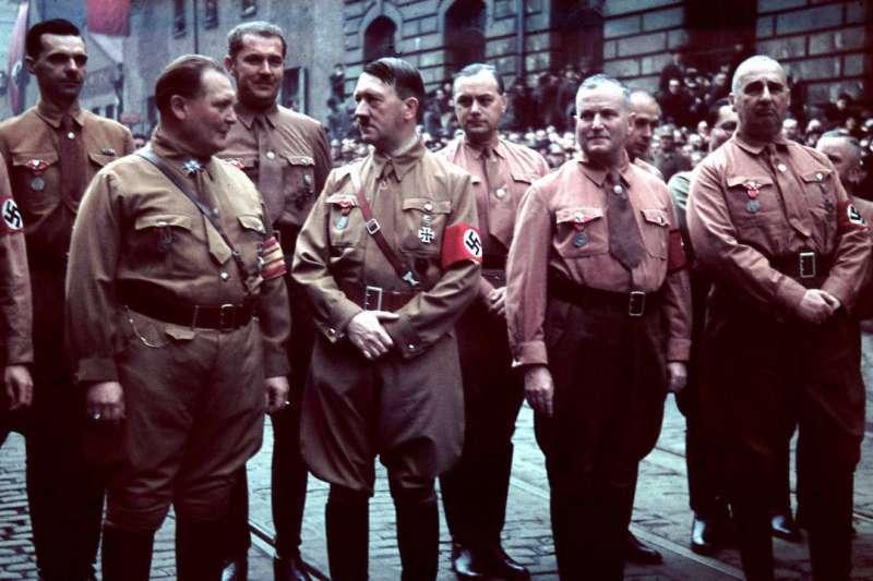 納粹黨衛隊。(圖/維基百科 WIKIPEDIA,言人文化提供)