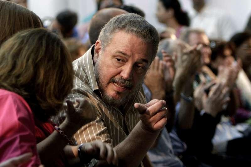 古巴傳奇革命家卡斯楚長子小菲德爾(Fidel Castro Diaz-Balart)(Granma)