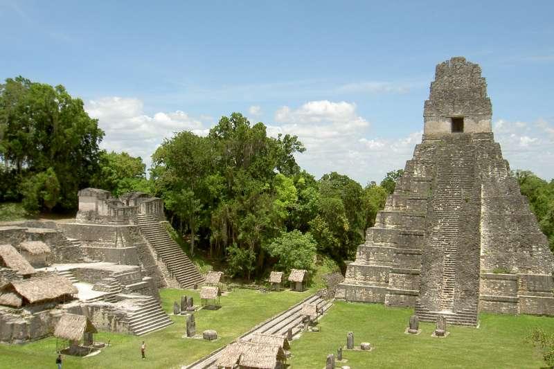 位於瓜地馬拉的提卡爾遺址。(Mike Murga@flickr/ CC BY 2.0)