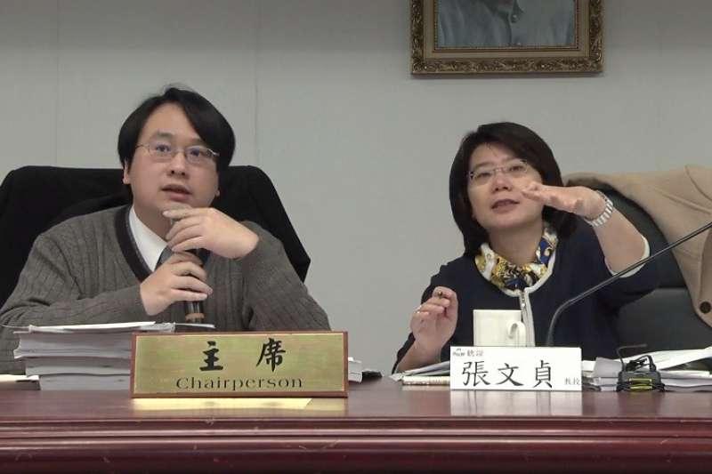 內政部聽證第2案由教授張文貞及律師蔡志揚擔任聽證主持人。(內政部提供)