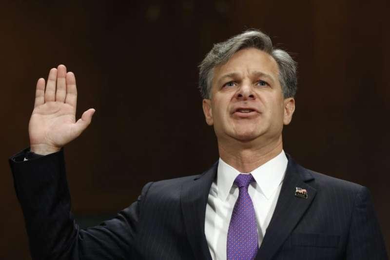 去年8月,瑞伊出席美國參議院司法委員會任命聽證會前宣誓(美聯社)
