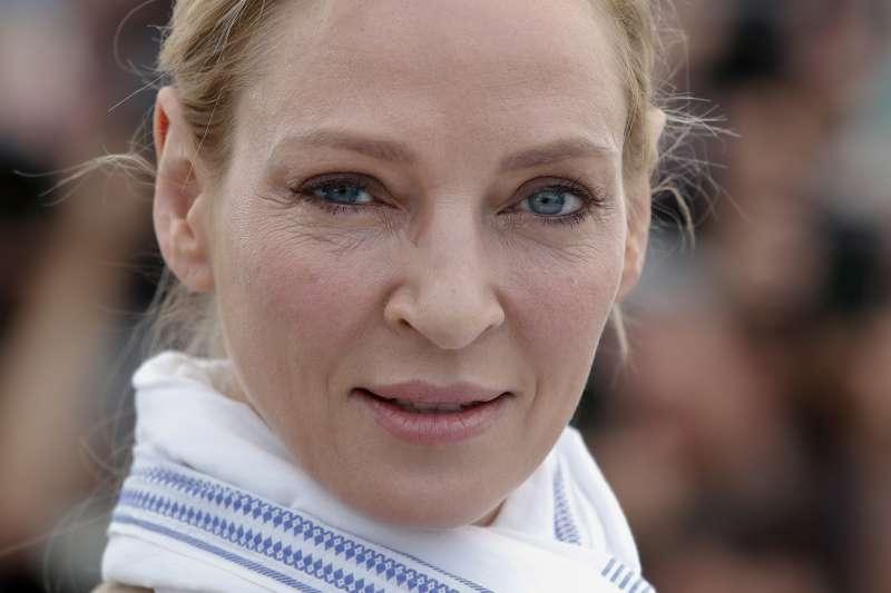 美國知名女星鄔瑪舒曼指控溫斯坦性騷擾,以及導演昆汀塔倫提諾包庇溫斯坦。(美聯社)