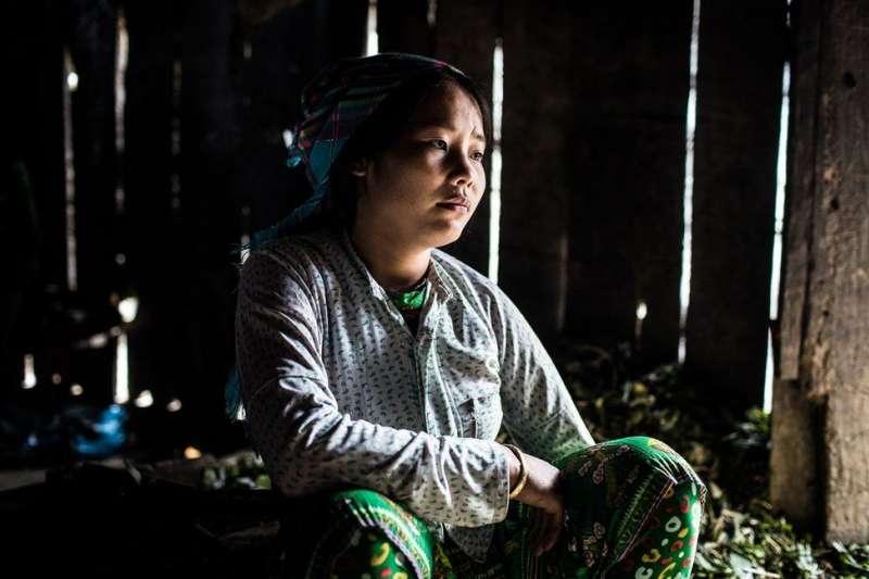 定曾在15歲的時候被拐走,但8個月後幸運地逃脫。(BBC中文網)