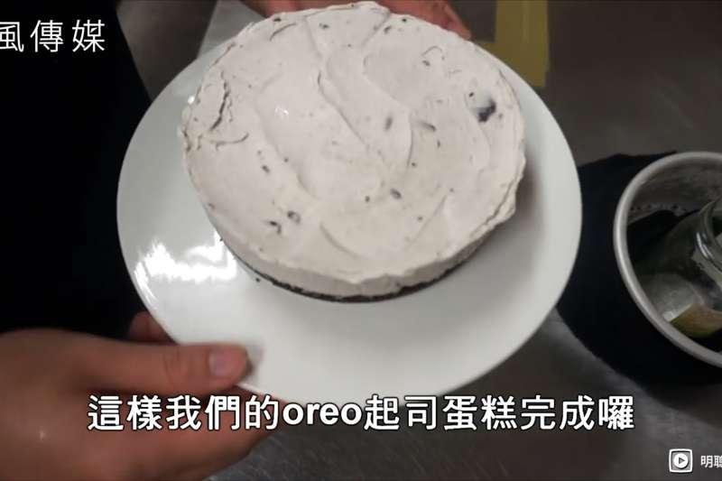 在家就能做出Oreo乳酪蛋糕!四種食材免烤箱 讓你享受咖啡廳級甜點!