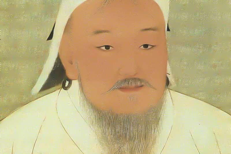 元太祖成吉思汗(取自維基百科)