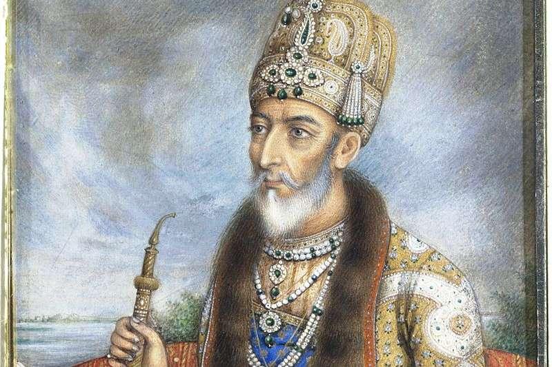 巴哈都爾沙二世。(取自維基百科)