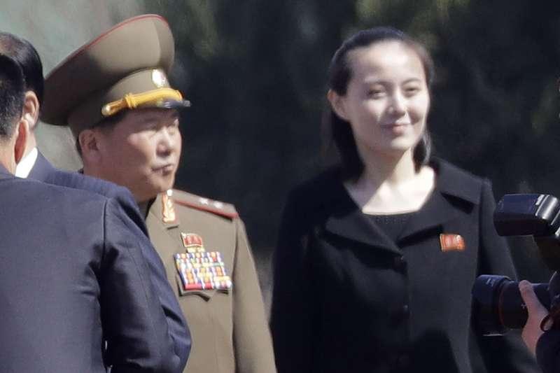 北韓最高領導人金正恩的胞妹金與正即將訪問南韓(AP)