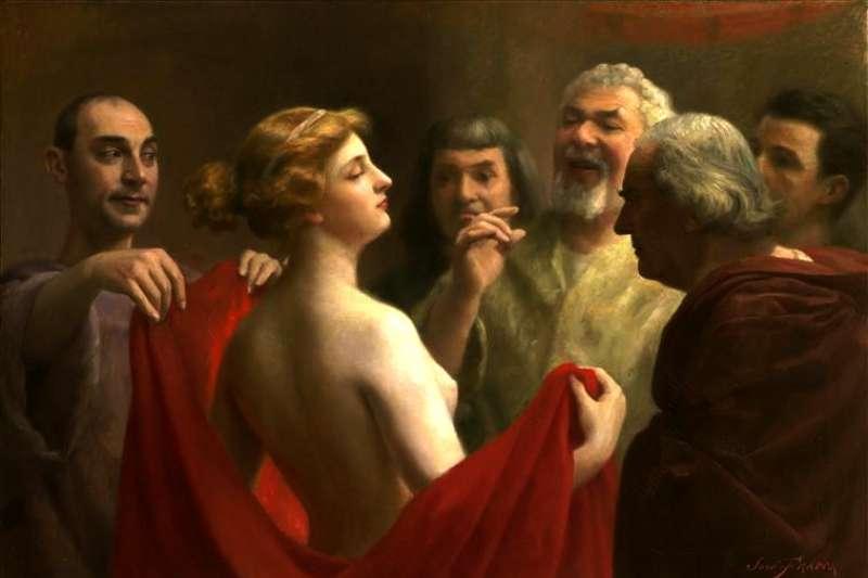 從古希臘到拜占庭,性工作者不但有內涵,還能躋身權貴。(圖非當事人/Wikipedia)