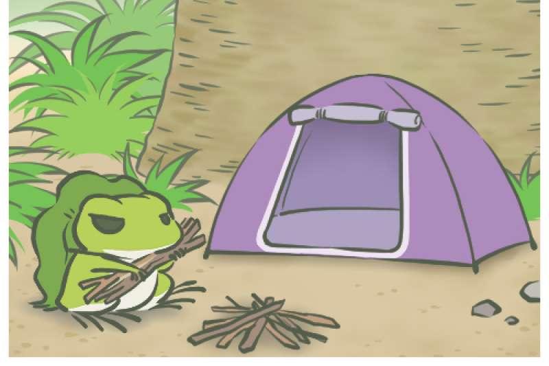 玩家與青蛙間的互動,就好像父母與小孩,父母只能默默替他準備好行李,卻不能替他決定去哪裡旅行。(圖/擷取自旅かえる畫面)