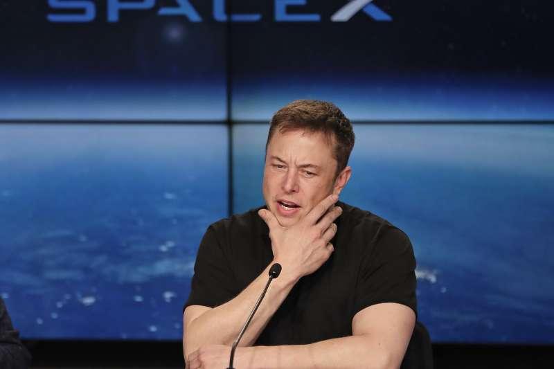 SpaceX執行長馬斯克,一生追求太空夢。(美聯社)