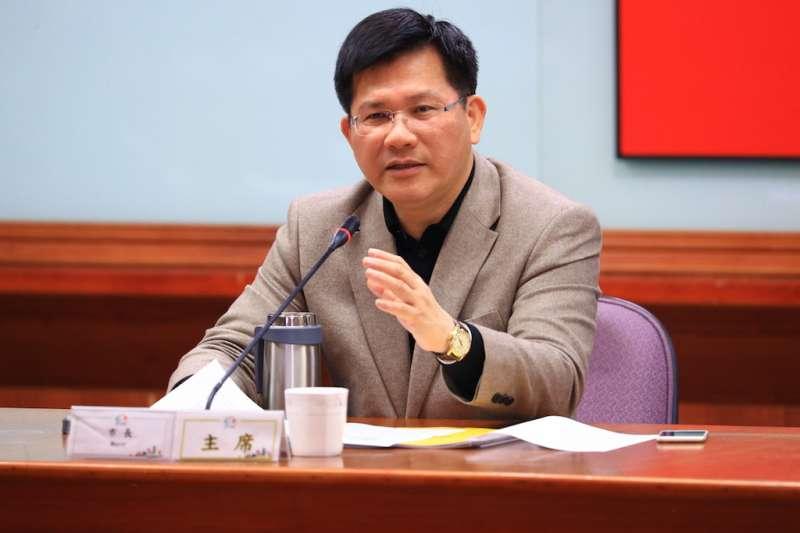 國民黨台中市長初選結果揭曉,台中市長林佳龍表示,不論未來誰出線,都給予祝福,也期盼市長選舉將是一場高品質的競爭。(圖/曾家祥攝)