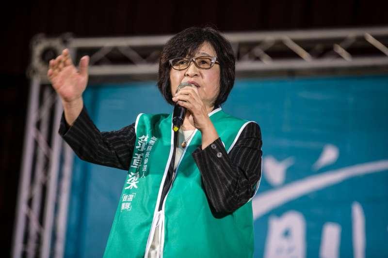 民進黨謝系立委蘇治芬評析姚文智在台北市的選情。(資料照片,陳明文國會辦公室提供)