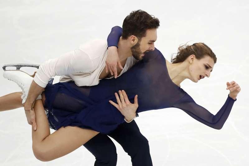 Gabriella Papadakis 和 Guillaume Cizeron(AP)