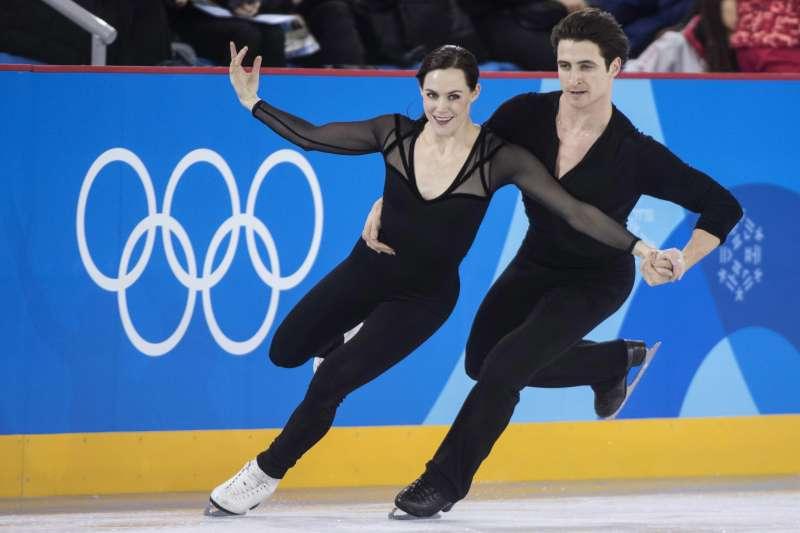 奧運冰舞選手Tessa Virtue 和Scott Moir