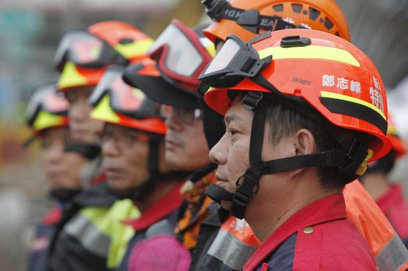花蓮地震搜救工作在2月11日上午告一段落(資料照,AP)