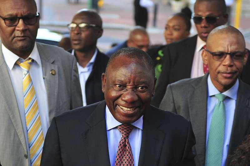 南非副總統、執政黨「非洲民族議會」(ANC)黨魁拉馬福薩(AP)