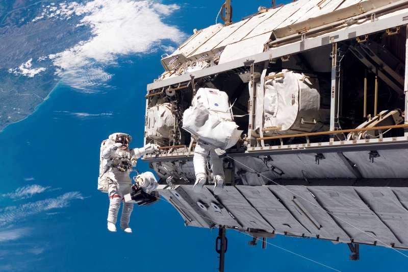 國際太空站(ISS)(AP)