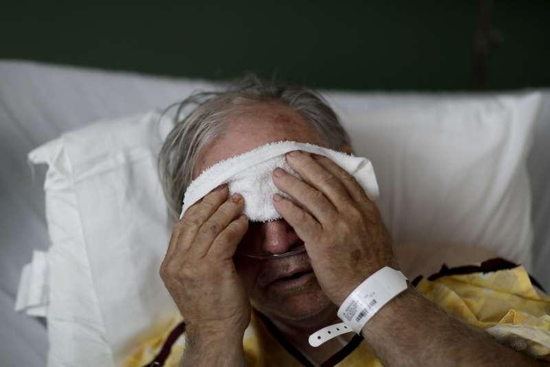 美國流感疫情嚴重。(美聯社)
