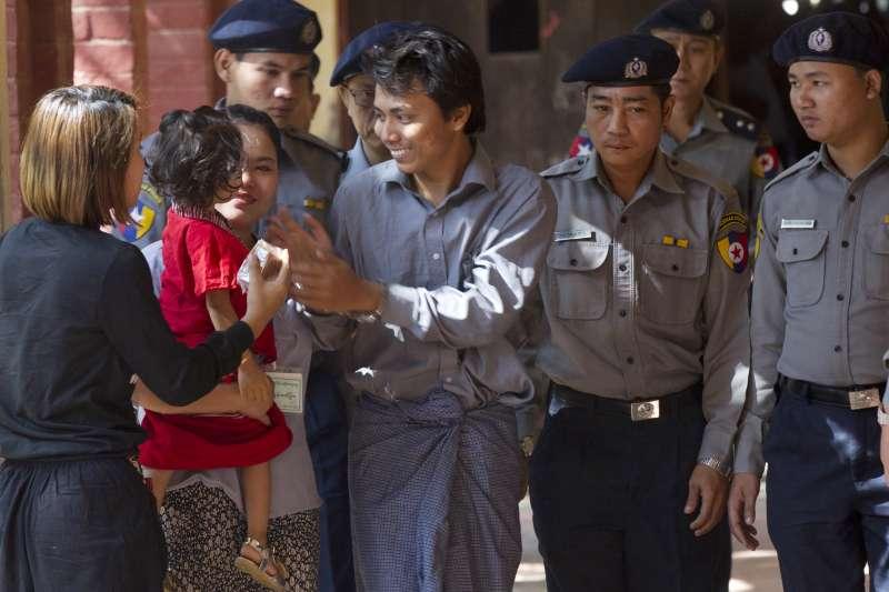 揭露緬甸軍方屠殺羅興亞人的《路透》記者吳覺梭(AP)