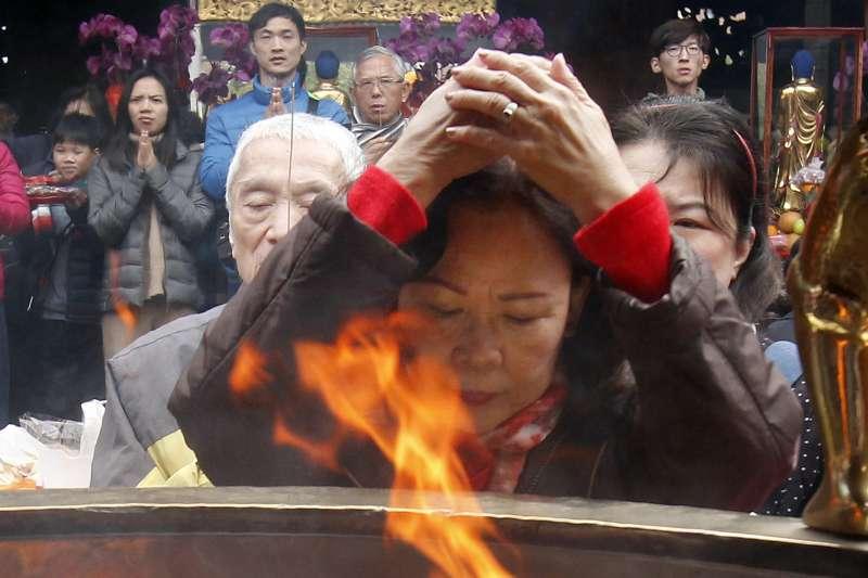 台灣獨特的農曆新年由來:沉島傳說(AP)