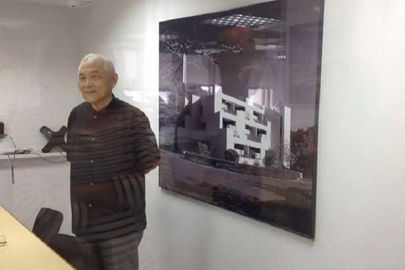 曾獲得國家文藝獎章的陳邁建築師遭到「停權」,引起建築界震撼。(取自宗邁建築師事務所臉書)