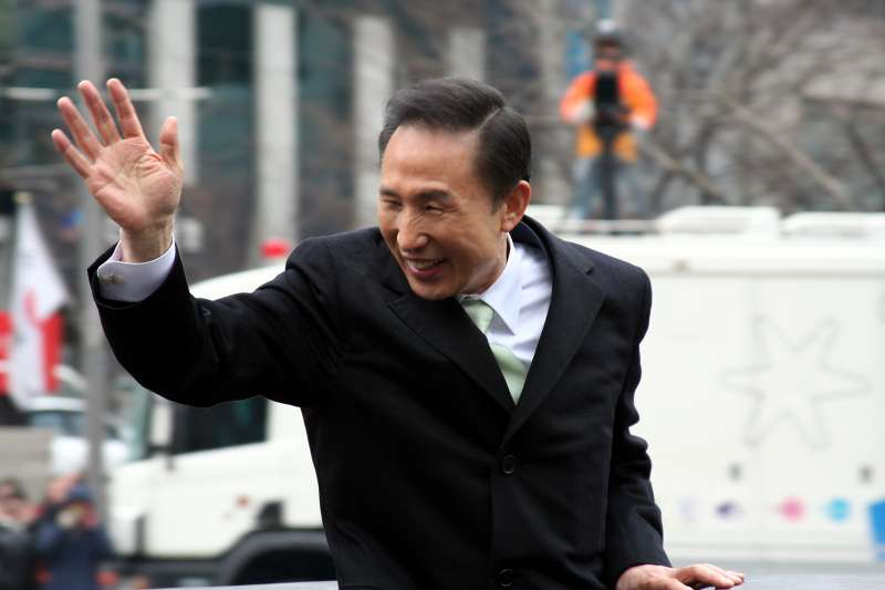南韓前總統李明博(hojusaram@Wikipedia / CC BY-SA 2.0)