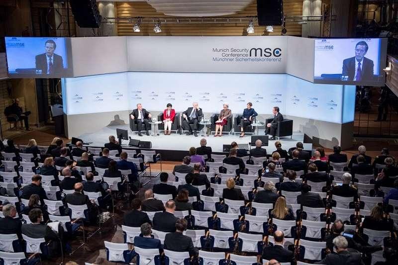 第54屆慕尼黑安全會議16至18日在德國慕尼黑舉行。中美兩國隔空交火。(慕尼黑安全會議官網)