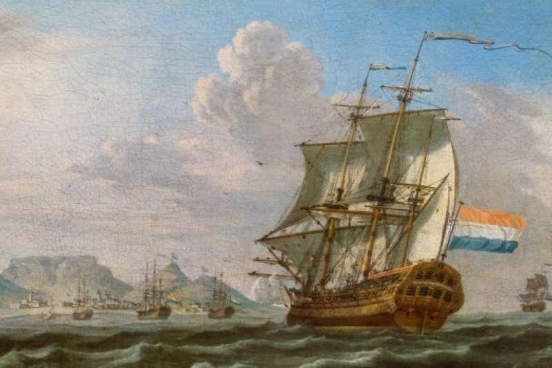 荷蘭東印度公司商船。(取自Wikipedia)