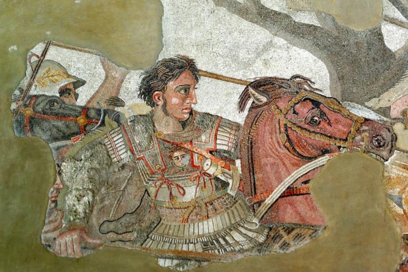 亞歷山大大帝。(取自維基百科)