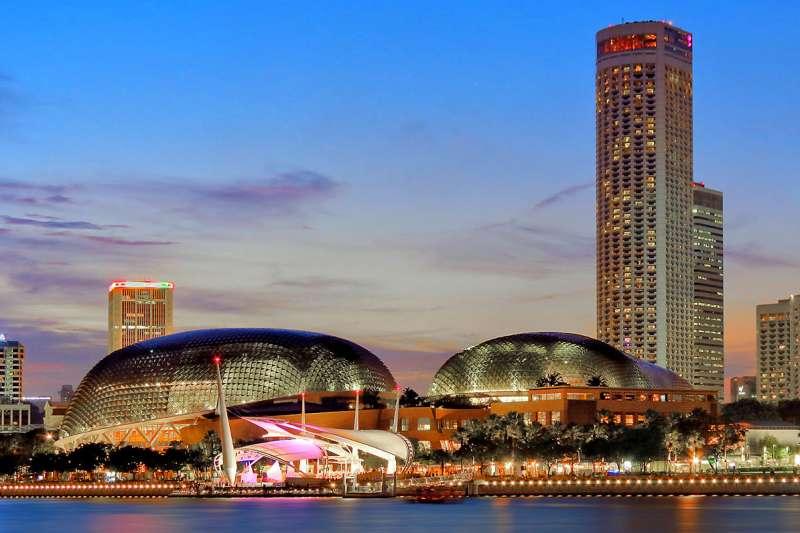2018-02-25-新加坡濱海藝術中心。(Erwin Soo@Wikipedia/CC BY SA-2.0)