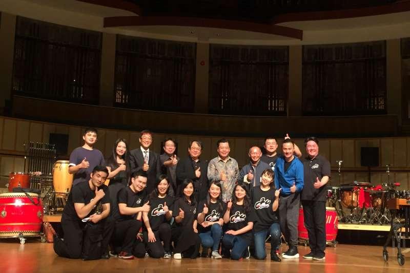2018-02-25-朱宗慶打擊樂團24日於新加坡濱海藝術中心演出06。(朱宗慶打擊樂團提供)