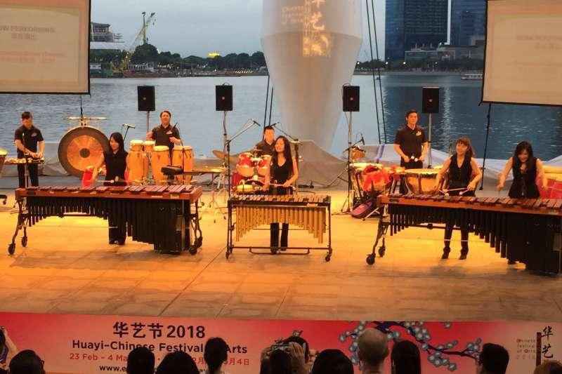 2018-02-25-朱宗慶打擊樂團24日於新加坡濱海藝術中心演出03。(朱宗慶打擊樂團提供)