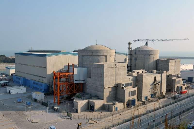 中國陽江核電站,中國核能發電(取自網路)