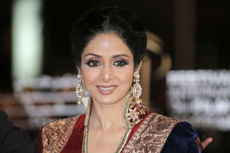 印度寶萊塢(Bollywood)國寶級女星詩麗黛瑋(Sridevi)(AP)