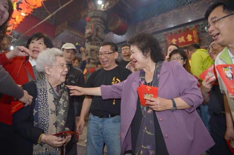 高雄市長陳菊證實將於3月首度訪美,以市長、女性的角度做專題演講。 (資料照,取自陳菊臉書)